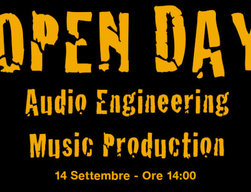 Open Day Corsi Tecnologie Audio